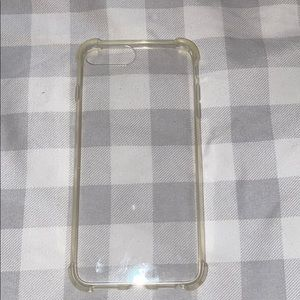 Clear iPhone 8 Plus case
